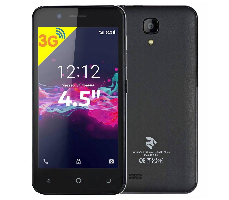 Смартфон 2E E450A 2018 DS Black фото 1