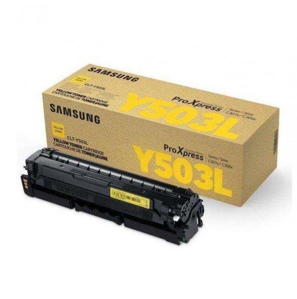 Купить Картриджи к лазерной технике, Картридж лазерный Samsung SL-C3010/3060 yellow, 5000стр (SU493A)