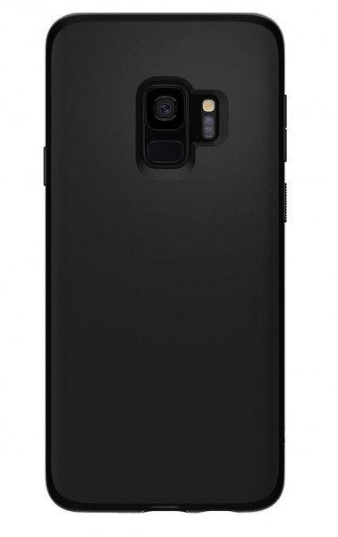 Купить Чехлы для телефонов (смартфонов), Чехол Spigen для Galaxy S9 (G960) Liquid Crystal Matte Black