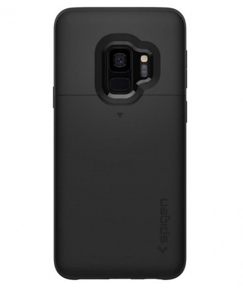 Чехол Spigen для Galaxy S9 (G960) Slim Armor CS Black