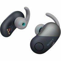 Навушники Bluetooth Sony WF-SP700N mic Black