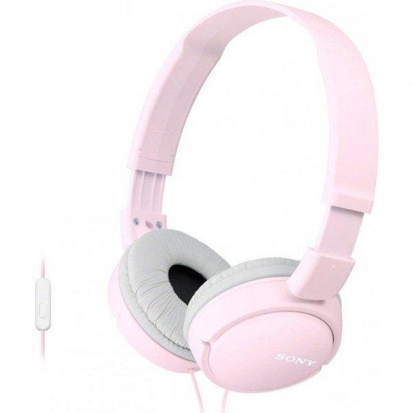 Купить Наушники Sony MDR-ZX110 mic Pink