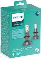 Лампа светодиодная Philips H8/Р11/H16 Ultinon Led +160% (11366ULWX2)