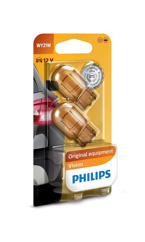 Лампа накаливания Philips WY21W Vision (12071B2) фото 1
