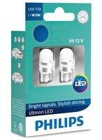 Лампа светодиодная Philips W5W Ultinon 4000K (11961ULW4X2)