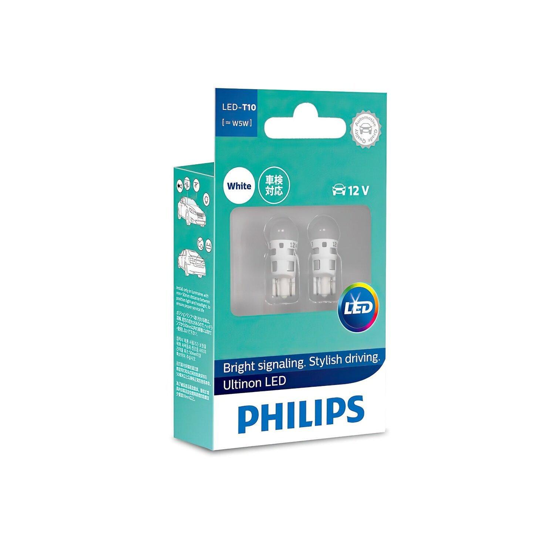 Лампа светодиодная Philips W5W Ultinon 6000K (11961ULWX2) фото 1