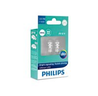 Лампа светодиодная Philips W5W Ultinon 6000K (11961ULWX2)