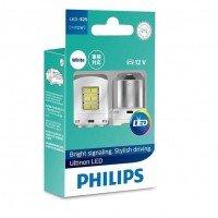 Лампа светодиодная Philips P21W White Ultinon (11498ULWX2)