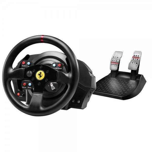 Купить Руль и педали для PC/PS4/PS3 Thrustmaster T300 Ferrari GTE Wheel (4160609)