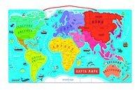 Магнитная карта мира Janod русский язык (J05483)