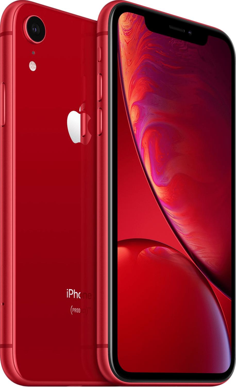 Смартфон Apple iPhone XR 128GB (PRODUCT)RED (slim box) (MH7N3) фото