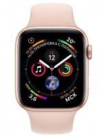 Смарт-часы Apple Watch Series 4 40mm Gold Aluminium Case with Pink Sand Sport Band