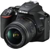 Фотоаппарат NIKON D3500 AF-P 18-55 VR Black (VBA550K001)