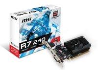 Відеокарта MSI Radeon R7 240 1GB DDR3 low profile (R7_240_1GD3_64B_LP)