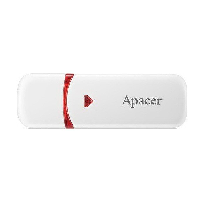Накопичувач USB 2.0 APACER AH333 32GB White (AP32GAH333W-1) фото1
