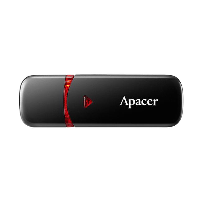 Накопитель USB 2.0 APACER AH33364GB Black (AP64GAH333B-1) фото