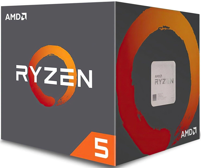 Процесор AMD Ryzen 5 2600 6/12 3.4GHz 16Mb AM4 65W Box (YD2600BBAFBOX) фото1