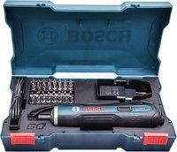 Отвертка аккумуляторная Bosch Go Solo с комплектом насадок (06019H2021)