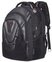 """Рюкзак для ноутбука Wenger Ibex 125th 17"""" Black Carbon Black"""