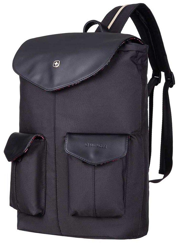 """Рюкзак для ноутбука Wenger MarieJo 14"""" Convertible Sling Black фото"""
