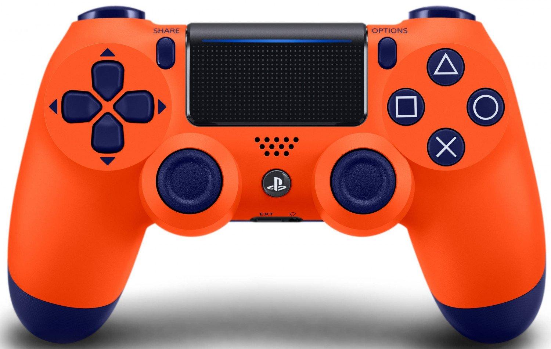 Беспроводной геймпад SONY Dualshock V2 Sunset Orange для PS4 (9918264) фото 1