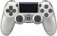 Бездротовий геймпад SONY Dualshock 4 V2 Silver для PS4 (9895954)