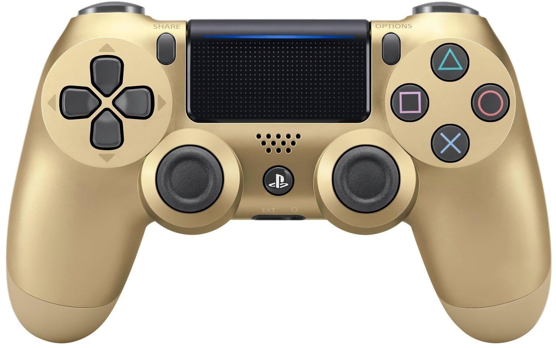 Беспроводной геймпад SONY Dualshock 4 V2 Gold для PS4 (9895558) фото 1