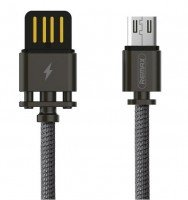 Кабель Remax Dominator microUSB 1m Black