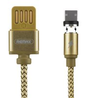 Кабель Remax Gravity Series Magnetic microUSB 1m Gold