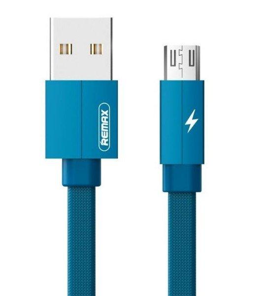 Купить Кабель Remax Kerolla MicroUSB Data/Charge 1m Blue