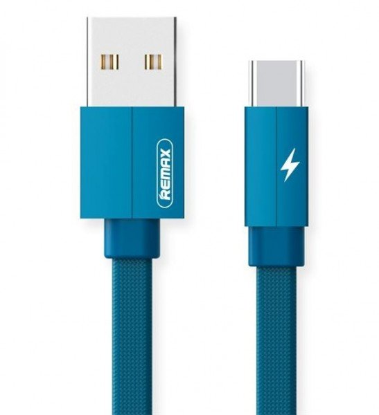 Купить Кабель Remax Kerolla Type-C Data/Charge 1m Blue