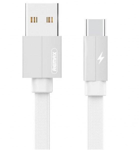 Купить Кабель Remax Kerolla Type-C Data/Charge 2m White