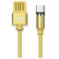 Кабель Remax Gravity Series Magnetic Type-C 1m Gold