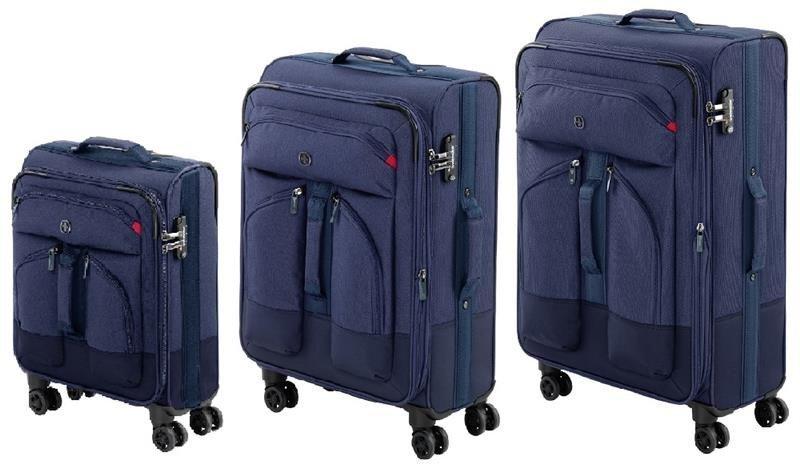 42f055da88a80a ≡ Комплект чемоданов Wenger Deputy 4 колеса 20