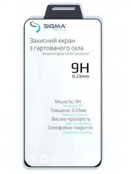 Купить Стекло Sigma mobile для Sigma X-treme PQ25/PQ30