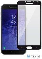 Стекло 2E для Galaxy J4 2018 (J400) 2.5D Black Border