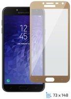 Стекло 2E для Galaxy J4 2018 (J400) 2.5D Gold Border