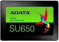 """<p>SSD накопичувач ADATA SU650 480GB 2.5"""" SATA 3D TLC (ASU650SS-480GT-R)</p>"""