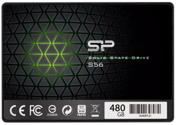 Купить SSD накопитель SILICON POWER S56 480GB 2.5 SATA TLC (SP480GBSS3S56A25)