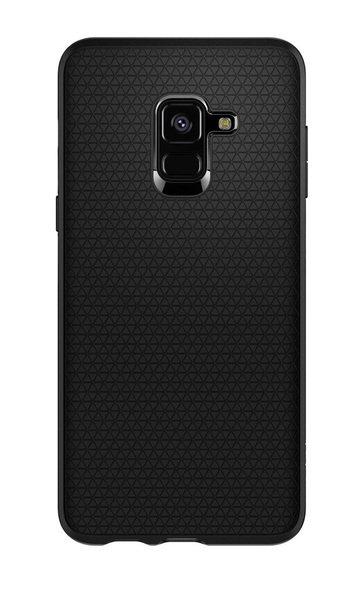 Купить Чехол Spigen для Galaxy A8 2018 (A530) Case Liquid Air Matte Black