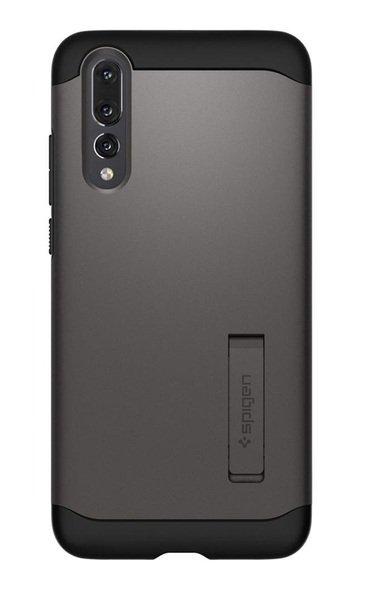 Купить Чехлы для телефонов (смартфонов), Чехол Spigen для Huawei P20 Pro Case Slim Armor Gunmetal