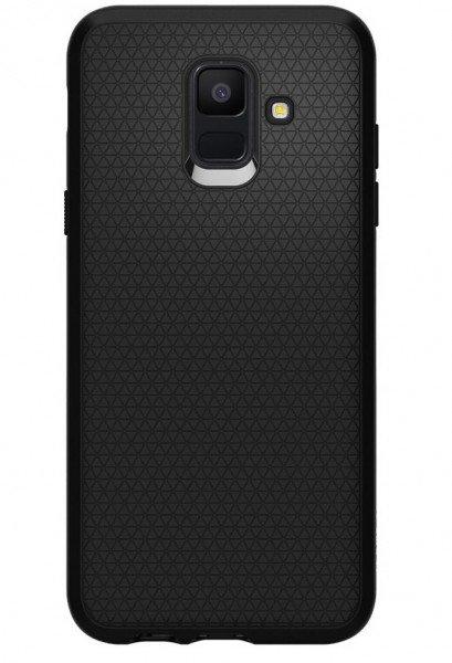 Купить Чехлы для телефонов (смартфонов), Чехол Spigen для Galaxy A6 2018 (A600) Case Liquid Air Black
