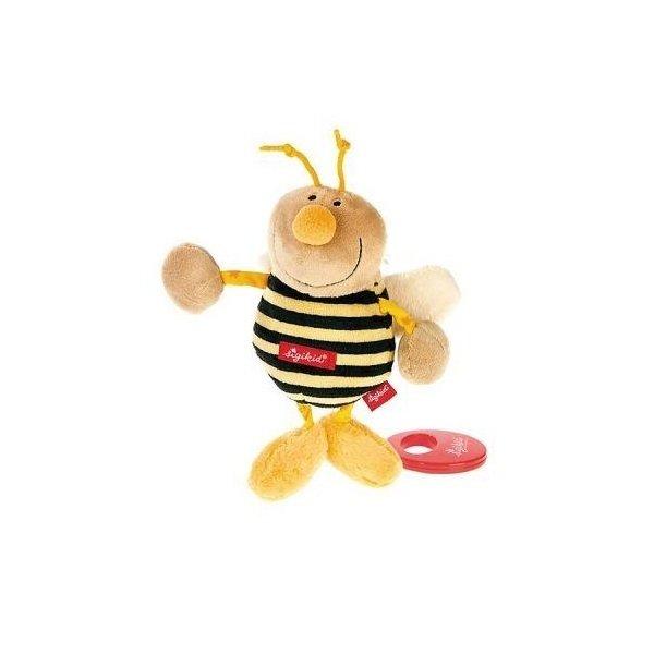 Купить Игрушки для новорожденных, МягкаямузыкальнаяигрушкаsigikidПчелка22сантиметра(49307СК)