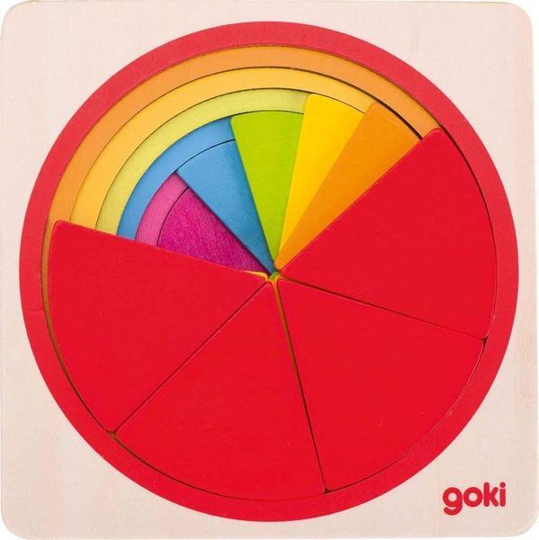 Купить Пазл-вкладыш goki Круг (57737G)