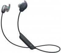 Навушники Bluetooth Sony WI-SP600N Black