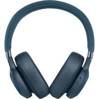 Навушники Bluetooth JBL E65 BT NC Blue (JBLE65BTNCBLU)
