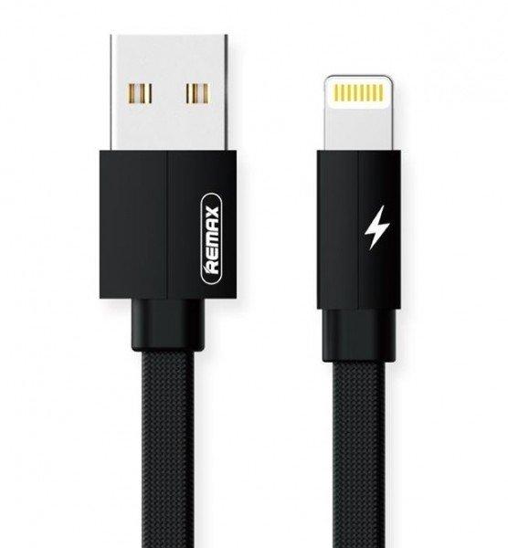 Купить Кабель Remax Kerolla Lightning Data/Charge 2m black