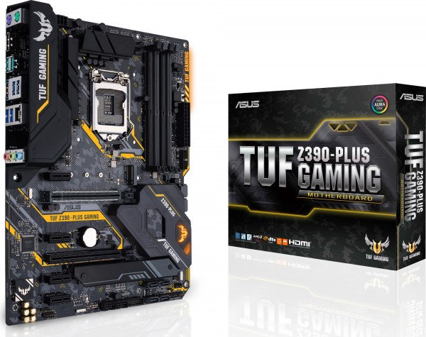 Материнcкая плата ASUS TUF Z390-PLUS GAMING фото 1