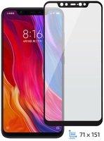 Стекло 2E для Xiaomi Mi 8 2.5D Black Border