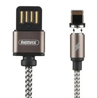Кабель Remax Gravity series Magnetic cable Lightning Data/Charge 1m tarnish